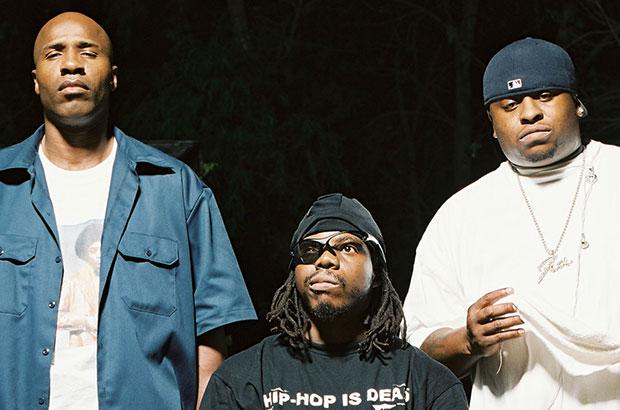Rap group with midget